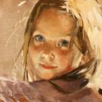 Jennifer Welty, Shea, oil, 9 x 12.