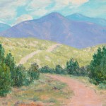 Sheldon Parsons, Spring in New Mexico, oil, 9 x 12. Estimate: $6,000-$8,000.