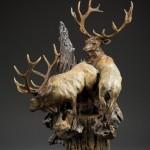 Sherry Salari Sander, Summer in the High Country, Bronze, 22 x 15 x 12.