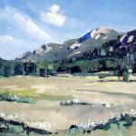 David Shingler, Rocky Mountain National Park #1, oil, 36 x 48.