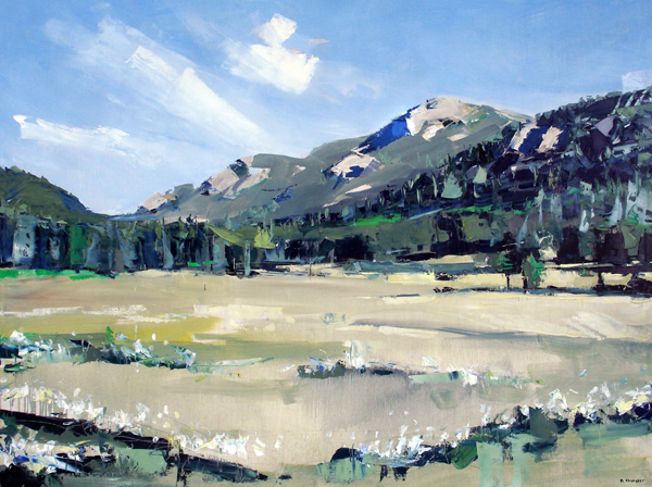 David Shingler, Rocky Mountain National Park #1, oil, 36 x 48.