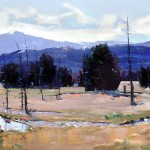 David Shingler, Rocky Mountain National Park #3, oil, 30 x 40.