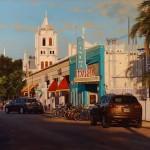 Brian Slawson | Tropic, oil, 20 x 30.