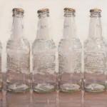 Dianne Massey-Dunbar, Soda Bottles, oil, 18 x 24.