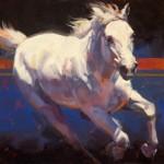 Julie Chapman, South Wind in Gray, oil, 18 x 24.