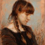 Julio Reyes | Sparrow, oil, 10 x 8.