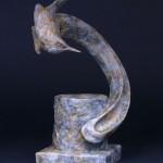 Pati Stajcar, Marsh Mellow, bronze, 10 x 5 x 4.