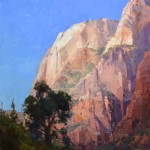 Kathryn Stats, Towers of Zion, oil, 30 x 24.