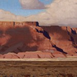 Logan Maxwell Hagege, Storm Remnants, oil, 16 x 26.
