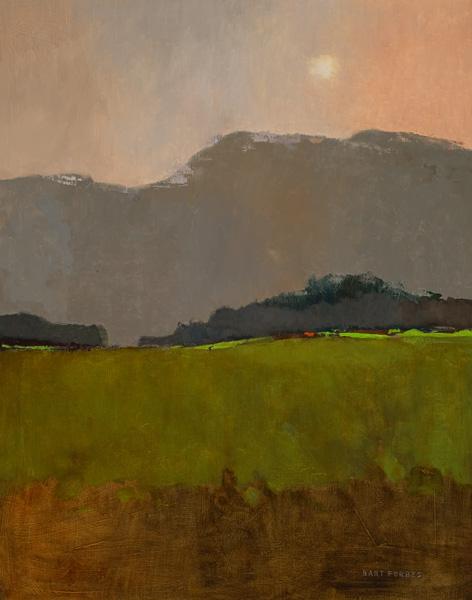 Bart Forbes, Sunrise, oil, 28 x 22.
