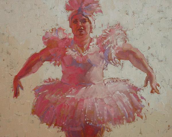 Susan Smolensky, Ballerina #3, oil, 16 x 20.
