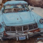 Scott Prior, Sweet Ride, oil, 12 x 16.