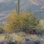Carol, Swinney, Desert Pastels, oil, 9 x 12.