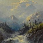 Sydney Laurence, Mount McKinley, Alaska, oil, 20 x 15. Estimate: $15,000-$25,000.