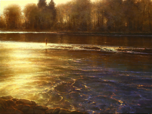 Brent Cotton, Symphony of the River, oil painting