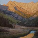 John Taft, Piney Sunset, oil, 42 x 36.