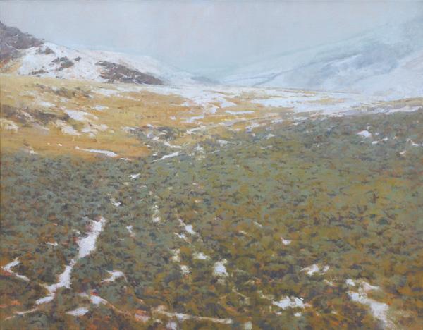 John Taft, SageHill, oil, 42 x 54.