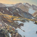 John Taft, Top Light, oil, 30 x 36.