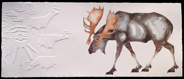 Rebecca Tobey, The Lone Ranger, giclee, 10 x 24.