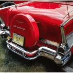Red Chevy by James E. Trippler