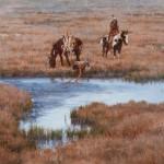 Howard Terpning, Good Medicine, oil on canvas, 18 x 24. Estimate: $100,000-$150,000.