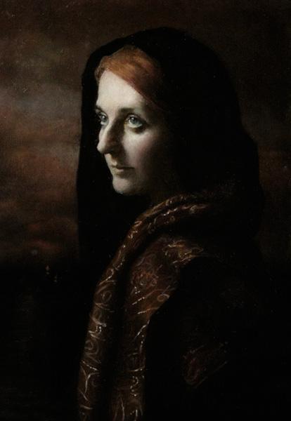 Terra Chapman, Penelope, oil, 9 x 16.