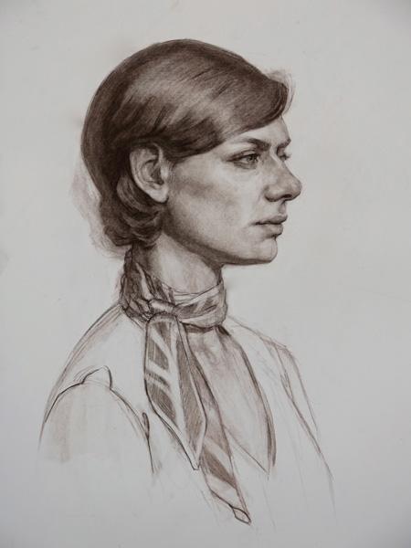 Terra Chapman, Sarah, sepia, 16 x 20.