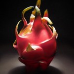 The Dragon Fruit, pastel, 11 x 14.