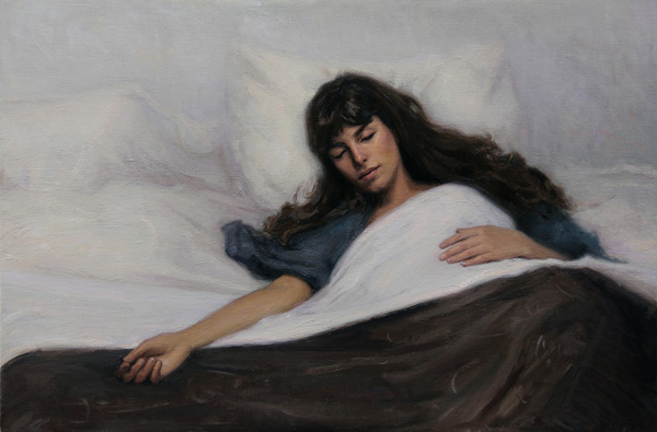 Melissa Franklin Sanchez, The Morning After Yesterday, oil.