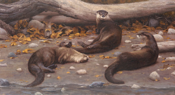 Kyle Sims | The Right Idea, oil, 24 x 44.