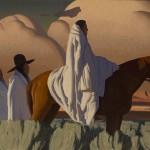 Logan Maxwell Hagege, The Sage Trail, oil, 30 x 50.