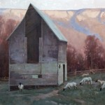 Jerry Markham, The Still of Evening, oil, 28 x 30.
