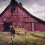 Simon Winegar, Through the Other Side, oil, 24 x 30.