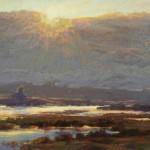 Kim Lordier, Tidal Symphony, pastel, 18 x 24.