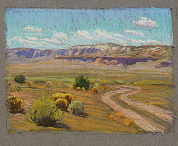 Tim-Solliday-'Desert-Back-Road'-Pastel-8-x-10