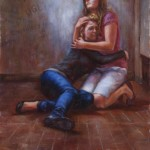 Samuel Enriquez, To Write Love on Her Arms, oil, 28 x 24.
