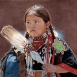 Ann Hanson, Turtle Totem, oil, 12 x 16.
