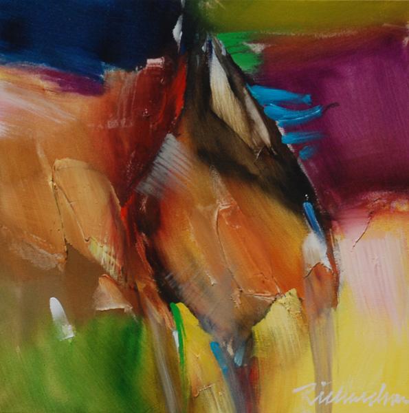 Jean Richardson, Untitled, acrylic, 11 x 14.
