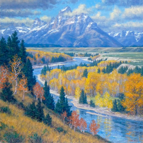 Majesty of the Tetons by Randy VanBeek