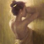 Vincent Xeus, In Light, oil, 20 x 16.