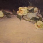 Lani Vlaanderen, The Scent of Roses, oil, 12 x 16.