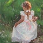 Michael Malm, Playful Wonder, oil painting