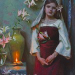 Michael Malm, Awaiting, oil painting
