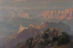Curt Walters, Desert Wonder, oil, 60 x 90.