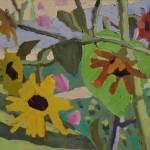 Peggi Kroll-Roberts, Wanderlust, oil, 12 x 16.