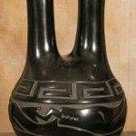 Elizabeth Naranjo, Santa Clara Wedding, carved blackware, 19 x 12. Estimate: $9,000-$12,000.