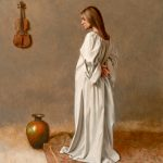 William Whitaker, Master Work, oil, 14 x 11.