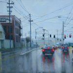 Jennifer Diehl, Who'll Stop the Rain, oil, 24 x 30.