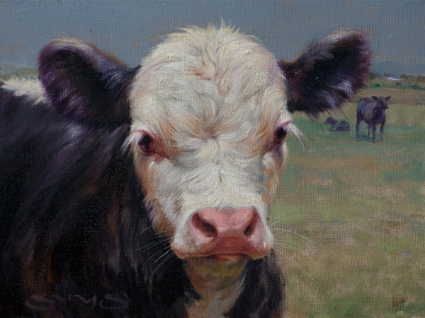 William Suys, Little Archibald, oil, 9 x 12.