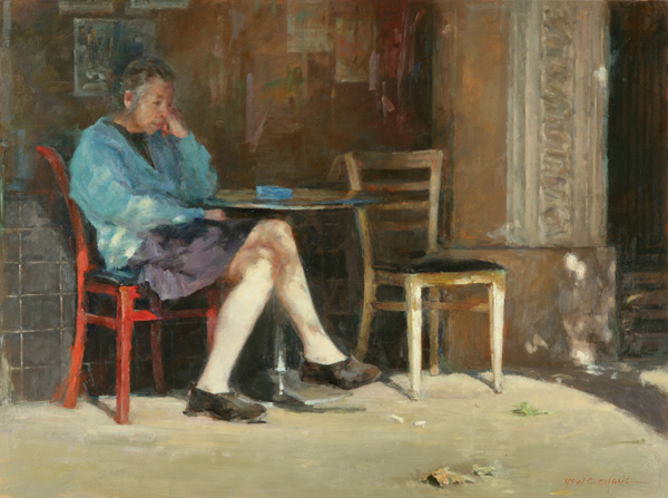 Yen-Ching Chang, Voices From the Past, oil, 30 x 40.